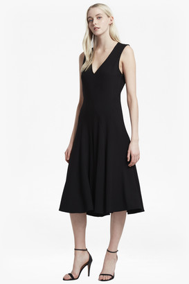French Connection Whisper Ruth Flared Dress