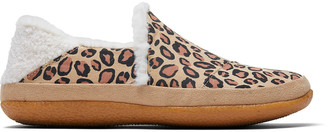 Toms Leopard Microsuede India Women's Slippers