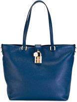Dolce & Gabbana padlock-detail shoulder bag - women - Leather - One Size