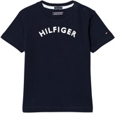 Tommy Hilfiger Navy Branded Tee