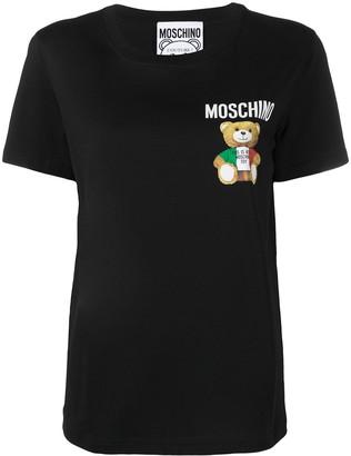 Moschino chest Teddy Bear print T-shirt