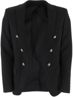 Balmain Jersey Blazer