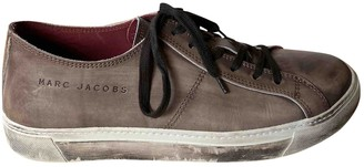 Marc Jacobs Brown Leather Trainers