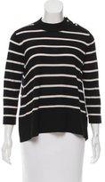Kate Spade Broome Street Striped Crew Neck Sweater