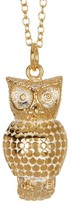 Anna Beck 18K Gold Plated Sterling Silver Owl Pendant Necklace