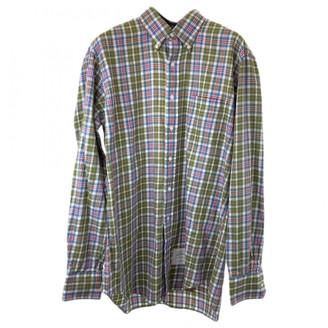 Thom Browne Grey Cotton T-shirts