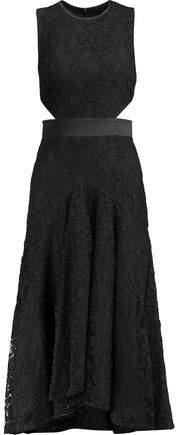 Alexis Maile Cutout Guipure Lace Midi Dress