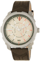 Diesel Men&s Machinus Canvas Watch