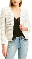 IRO Open-Knit Jacket