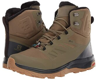 Salomon Outblast TS CSWP (Burnt Olive/Phantom/Black) Men's Shoes