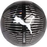 Puma ONE CHROME Football black/silver