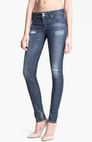 Hudson Jeans 'Collin' Distressed Skinny Stretch Jeans (Youth Vintage)