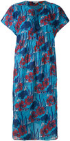 Manoush floral-print midi dress - women - Silk/Polyester - 36