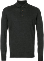 Lardini polo collar jumper