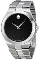 Movado Men's Titanium Dial Quartz Watch