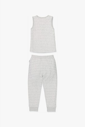 Country Road Organically Grown Cotton Stripe Pyjama Set