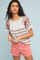 Maeve Kenitra Embroidered Blouse