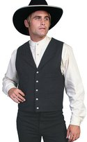 Scully Western Vest Mens Wool Adjustable Button 3XT 511064