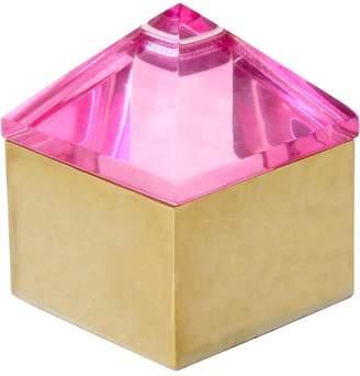 Jonathan Adler Small Pink Monte Carlo Stud Box