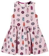 Juicy Couture Pink Juicy Treats Neoprene Party Dress