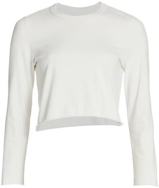 NSF Mario Cropped Long-Sleeve Top