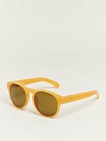 Dries Van Noten Women's Acetate Rounded Sunglasses