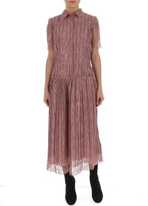 Bottega Veneta Pleated Shirt Dress