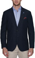 Tailorbyrd Donegal Textured Two Button Notch Lapel Modern Fit Sport Coat