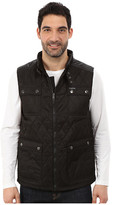 U.S. Polo Assn. Quilted Vest with PU Yoke
