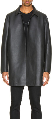Alyx Leather Coats in Black | FWRD