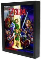 Nintendo® The Legend of Zelda: Ocarina of Time 3D Shadowbox Wall Art