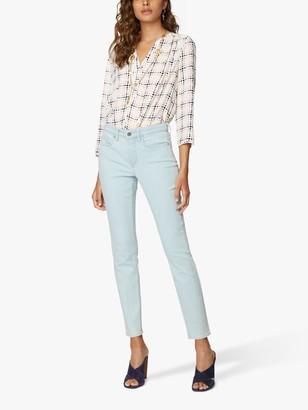 NYDJ Alina Skinny Ankle Jeans, Light Blue