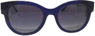 Thierry Lasry Blue Plastic Sunglasses