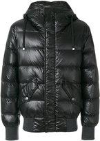 Dolce & Gabbana padded jacket - men - Calf Leather/Feather Down/Nylon/zamac - 46