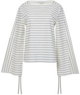 Tibi Striped Shirting Top