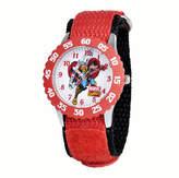 Marvel Thor Kids Red Nylon Strap Watch