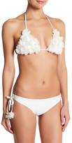 Tularosa Floral Self-Tie Bikini Top