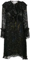 IRO ruffle detail dress