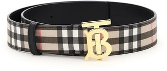 Burberry Check Tb Belt 35