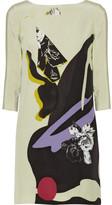 Prabal Gurung Floral-print silk crepe de chine dress