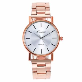 LABIUO Luxury Watches Quartz Watch Stainless Steel Dial Casual Bracele Watch