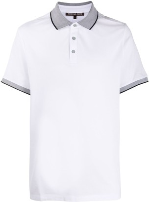 Michael Kors Contrast-Trimmed Polo Shirt
