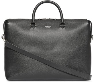 Burberry Triple Stud Grainy Leather Briefcase