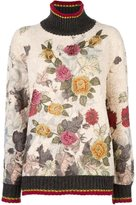 Antonio Marras floral embroidered sweater
