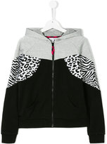 Little Marc Jacobs teen hooded zipped jacket