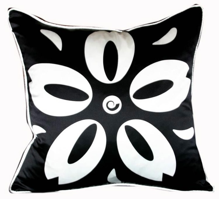 Plush Living Nook Sakura Silk Pillow