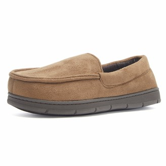 Weatherproof Men's Memory Foam House Slipper Indoor/Outdoor Moccasin