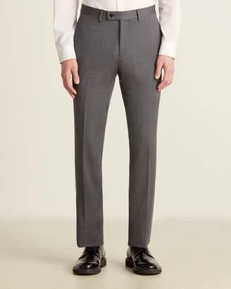 Ted Baker Jarrett Wool Solid Grey Pant