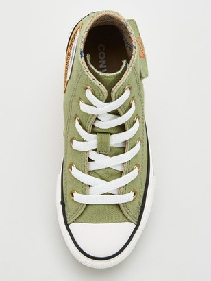 Converse Chuck Taylor All Star Pocket 'Camp Converse' Hi Childrens Trainers
