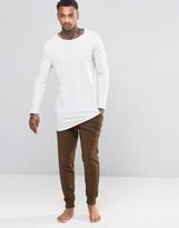 Asos Loungewear Skinny Joggers In Brown